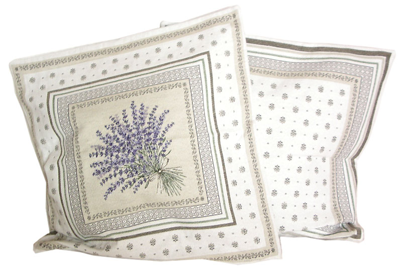 Jacquard cushion cover (CASTILLON. raw )